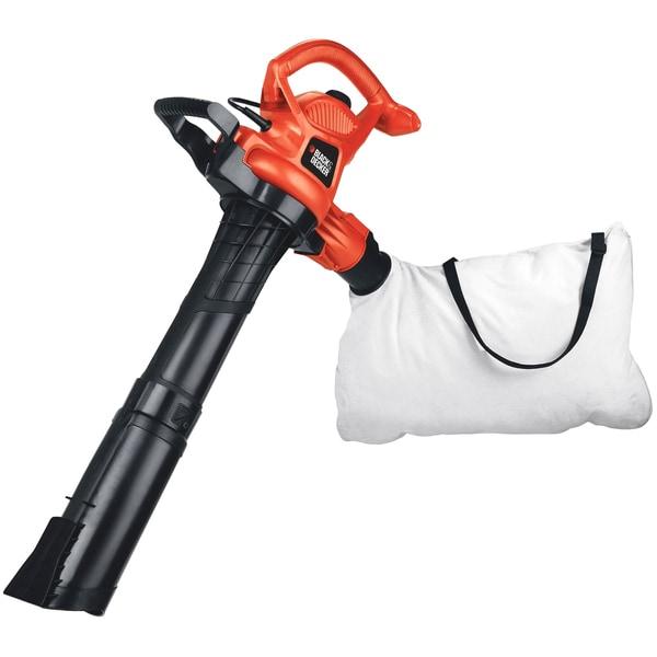 Black & Decker 12-amp 2-speed Handheld Electric Mulcher Blower Vacuum
