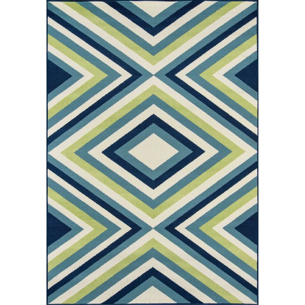 Havenside Home Rowayton Multicolor Indoor/ Outdoor Area Rug (3'11 x 5'7)