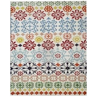 Safavieh Handmade Wyndham Ivory Wool Rug (4' x 6')