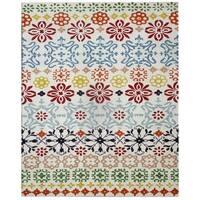 Safavieh Handmade Wyndham Ivory Wool Rug - 4' x 6'
