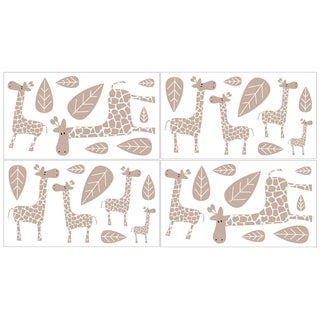 Sweet JoJo Designs Giraffe Wall Decals