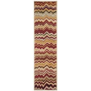 Safavieh Wyndham Red Handmade Wool Area Rug (2' 3 x 7')