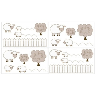 Sweet JoJo Designs Little Lamb Wall Decals