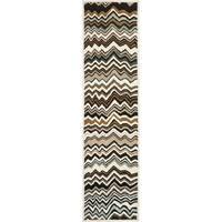 Safavieh Handmade Wyndham Brown Wool Rug - 2'3 x 11'