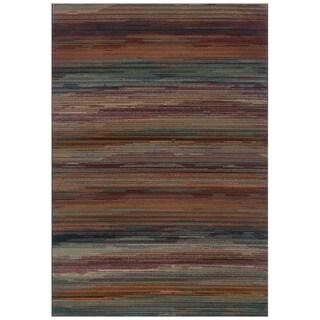 "Striped Multi Area Rug (5'3 x 7'6) - 5'3"" x 7'6"""
