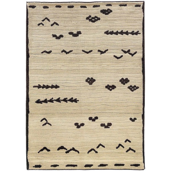 Pine Canopy Chequamegon Tribal Ivory/ Brown Area Rug - 9'9' x 12'2'