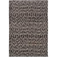 Old World Tribal Ivory/ Grey Rug - 9'9 x 12'2