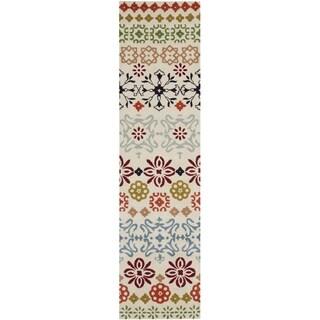 Safavieh Handmade Wyndham Ivory Wool Runner Rug (2'3 x 7')