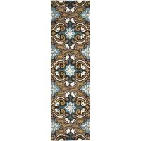 Safavieh Handmade Wyndham Blue Wool Rug - 2'3 x 7'