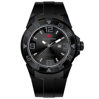 Seapro Men's Black 'Drive' Watch