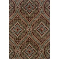 Shop Abstract Grey Multi Area Rug 1 11 X 3 3 On Sale