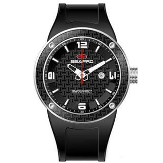 Seapro Men's Black Dial Diver Watch