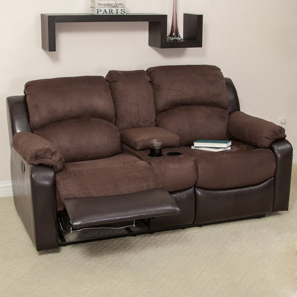 Graham Dual Motion Loveseat by Christopher Knight Home