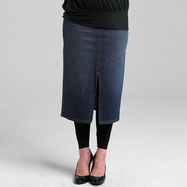 Juliet Dream Indigo Jean Maternity Skirt