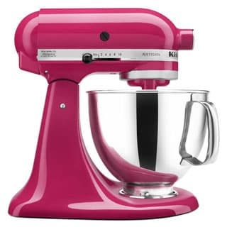 KitchenAid KSM150PSCB Cranberry Artisan 5-quart Tilt-Head Stand Mixer with $50 Rebate