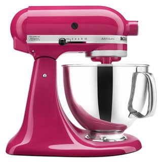 KitchenAid KSM150PSCB Cranberry Artisan 5-quart Tilt-Head Stand Mixer