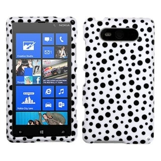 INSTEN Mixed Polka Dots Phone Case Cover for Nokia Lumia 820