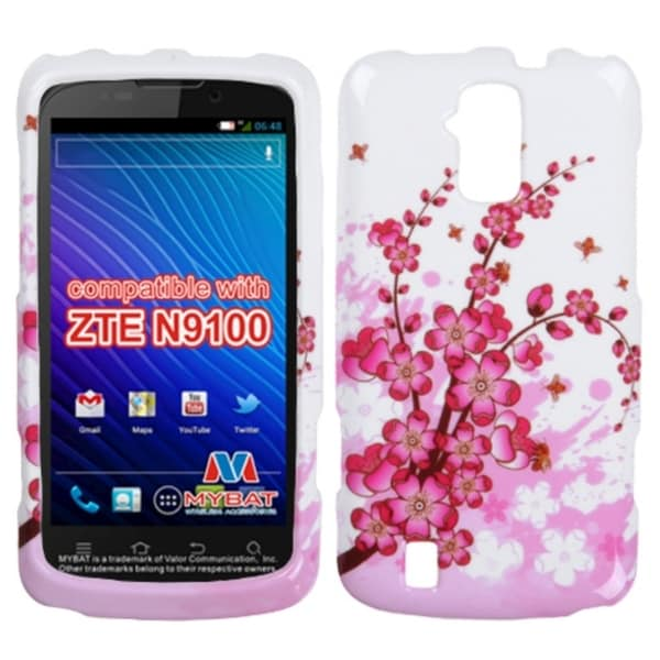 INSTEN Spring Flowers Phone Case Cover for ZTE N9100