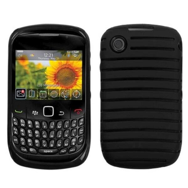 BasAcc Black/ Black Case for Blackberry Curve 8520/ 8530/ 9300/ 9330
