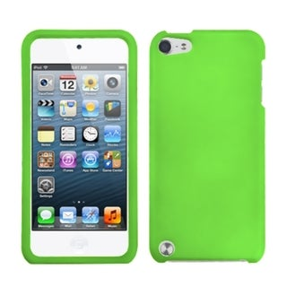 Insten Green Hard Snap-on Rubberized Matte Case Cover For Apple iPod Touch 5th/ 6th Gen
