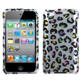 INSTEN Colorful Leopard iPod Case Cover for Apple iPod Touch 4th Generation