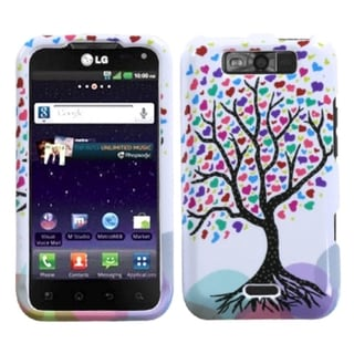 INSTEN Love Tree Phone Case Cover for LG MS840 Connect 4G/ LS840 Viper