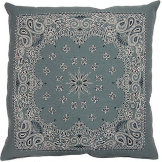 Bandy Aqua 26-inch Floor Pillow