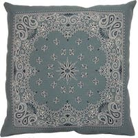 Bandy Aqua 26-inch Floor Pillow