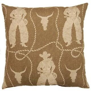 Buckaroo Rawhide 26-inch Floor Pillow