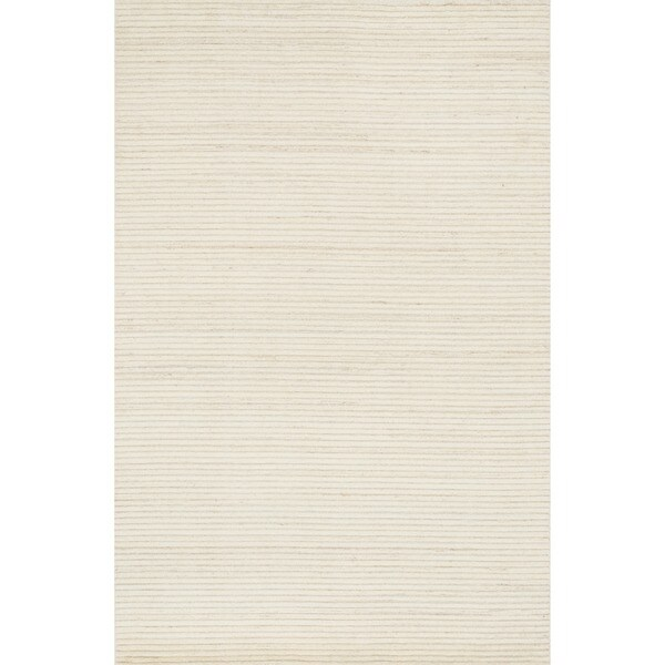 Hand Knotted Franklin Ivory Wool Rug 9 3 X 13 Free