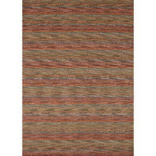 Hand-loomed Aria Prism Wool Rug (5'0 x 7'6)