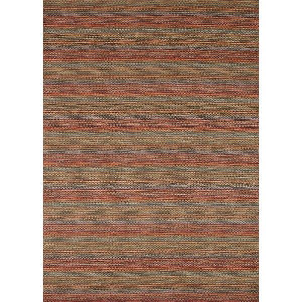 Hand-loomed Aria Prism Wool Rug (5'0 x 7'6)