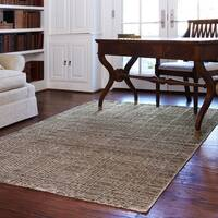 Hand-knotted Franklin Stone Wool Area Rug - 3'6 x 5'6