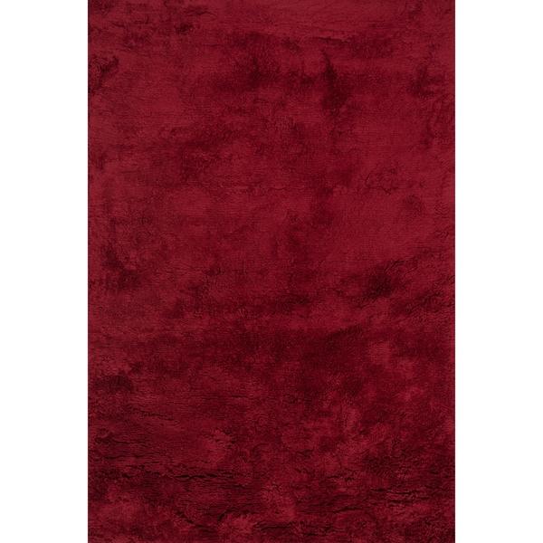"Hand-tufted Ellis Crimson Shag Rug (7'9 x 9'9) - 7'9"" x 9'9"""