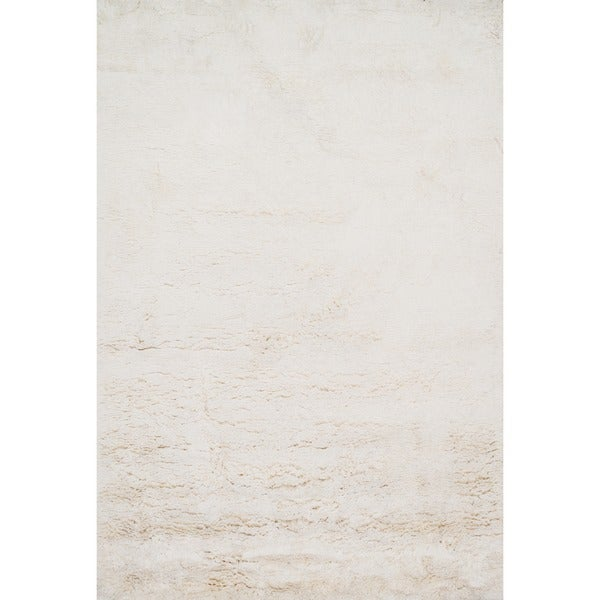 "Hand-tufted Ellis Ivory Shag Rug (7'9 x 9'9) - 7'9"" x 9'9"""