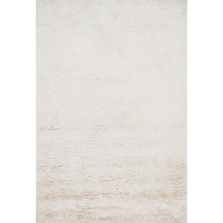 Hand-tufted Ellis Ivory Shag Rug (7'9 x 9'9)