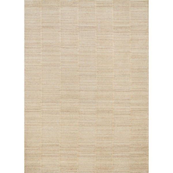 Hand-knotted Franklin Natural Wool Rug - 3'6 x 5'6