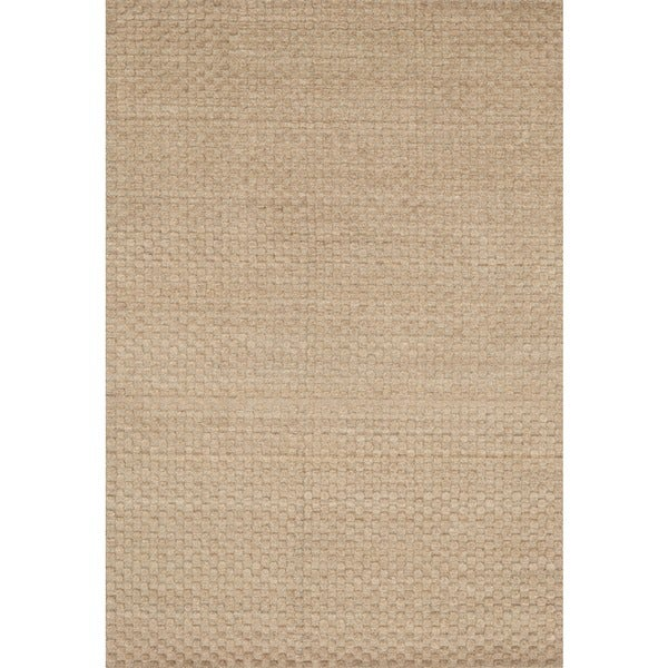 Hand-knotted Franklin Dune Wool Area Rug (3'6 x 5'6)