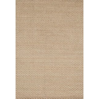 Hand-knotted Franklin Dune Wool Rug (9'3 x 13)