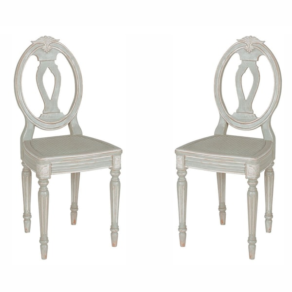 nuLOOM Casual Living Vintage Grey Dining Chairs (Set of 2)