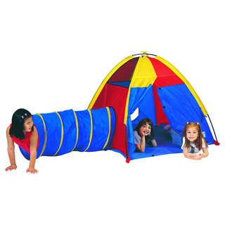 Pacific Play Tents Hide-Me Tent / Tunnel Combo