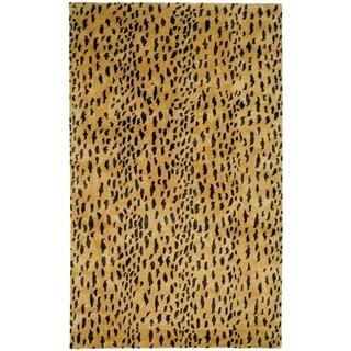 Safavieh Handmade Soho Beige/ Brown Wool Rug (11' x 15')