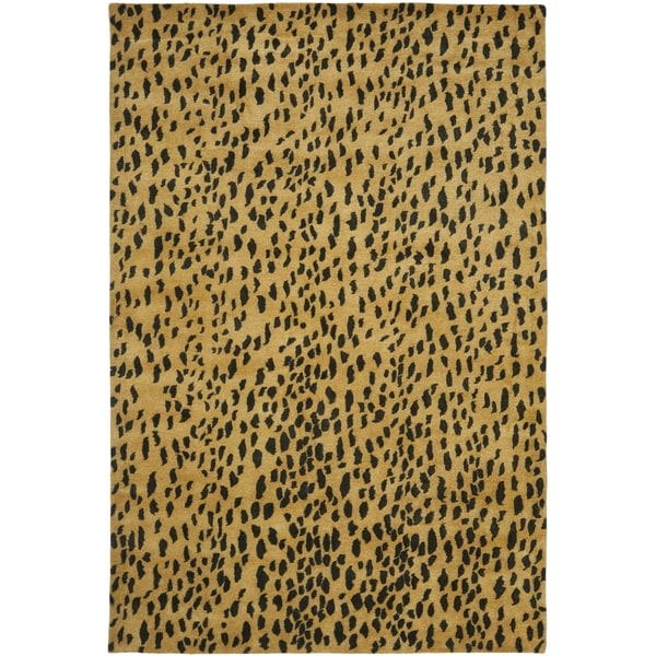 Safavieh Handmade Soho Beige Brown Wool Rug 11 X 15