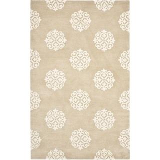 Safavieh Handmade Soho Beige/ Ivory Wool Rug (9'6 x 13'6)