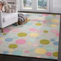 Safavieh Handmade Soho Grey Wool Rug - 5' x 8'