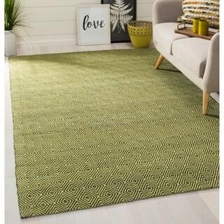 Safavieh Hand-woven Southampton Green Rug (2' x 10')