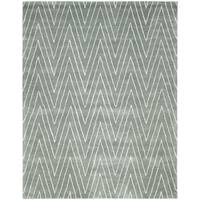Safavieh Handmade Thom Filicia Blue/ Stone Wool/ Viscose Rug (9' x 12')