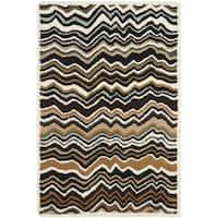 Safavieh Handmade Wyndham Brown Wool Rug - 3' x 5'