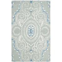 Safavieh Handmade Wyndham Blue/ Ivory Wool Rug - multi - 2' X 3'