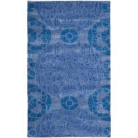 Safavieh Handmade Wyndham Blue Wool Accent Rug - 2' x 3'